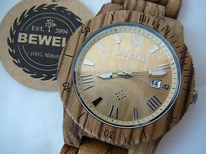 Orologio-Bewell-in-legno-di-sandalo-zebra-movimento-Citizen