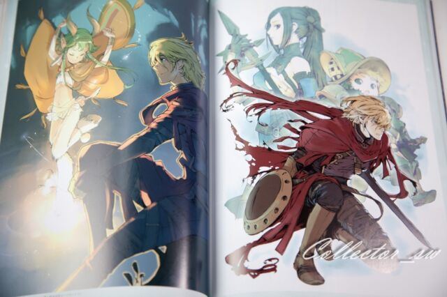 3-7 DaysRadiant Historia /& Perfect Chronology Official Artworks from JP