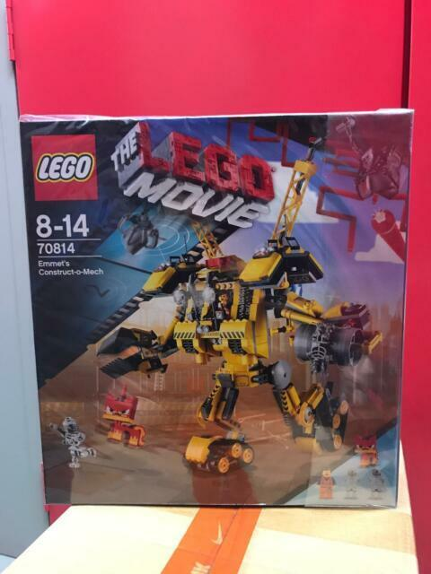 The Lego Movie Emmet S Construct O Mech 70814 Unikitty Ship For Sale Online Ebay
