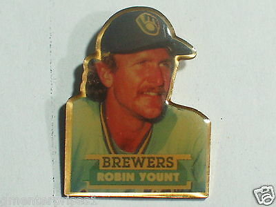 In Verschiedenen AusfüHrungen Und Spezifikationen FüR Ihre Auswahl ErhäLtlich Robin Yount Milwaukee Brewers Baseball Spieler Mlb Pin-flagge Vintage