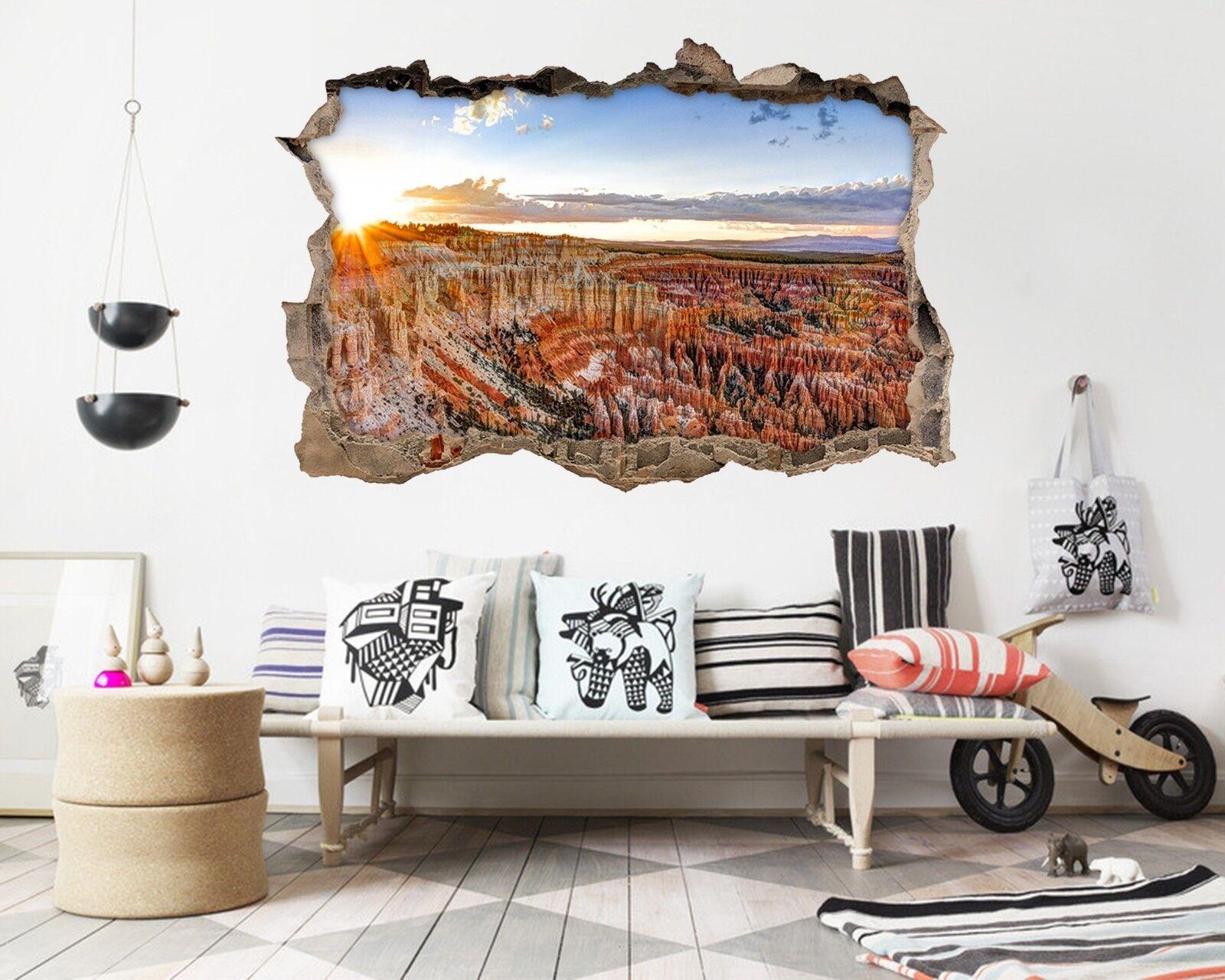 3D Bryce Canyon 175 Mauer Murals Mauer Aufklebe Decal Durchbruch AJ WALLPAPER DE