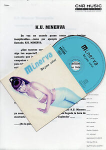 KU-MINERVA-034-DEJAME-SONAR-034-PROMO-CD-SINGLE-PRESS-DOSSIER-STEPHANELLI-POSADA