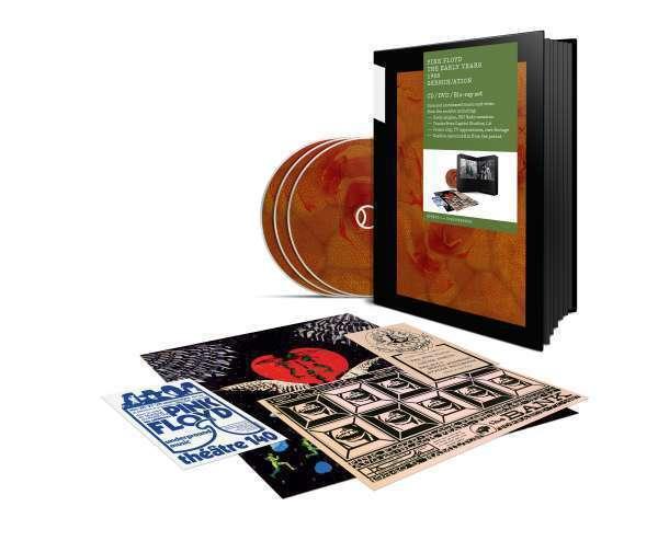 Pink Floyd - 1968 Germin / Ation Nuevo Blu-Ray
