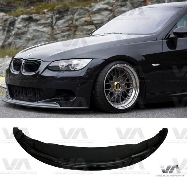 BMW E92 E93 LCI Front M Bumper spoiler splitter lip Performance valance skirt