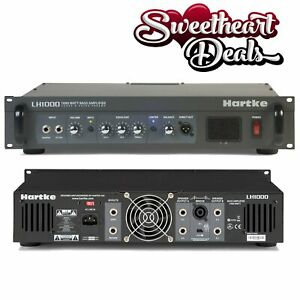 Hartke-LH1000-1000w-Bass-Guitar-Amplifier-Head-Class-A-Tube-Preamp-Circuit