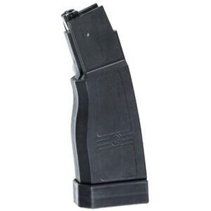 ASG Airsoft Evo 3 Scorpion Hi-Cap Magazine 375 Rd Black Polymer 6mm bb/'s