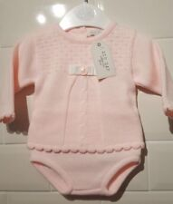 Outfits & Sets Baby Girl Romany/spanish Style Knitted Zip Zap Pink Outift 6 Months Girls' Clothing (0-24 Months)