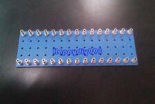 2 PCS 30pin Blue Tube Audio Amps DIY Tag Strip Tag Board Turret Board diy parts