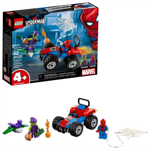 LEGO® Marvel Super Heroes Spider-Man Car Chase Building Kit 76133 Super He Toy