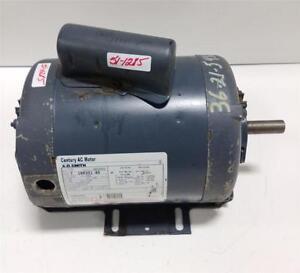 A O Smith Century 1 3hp 1p 1140rpm K56fr Ac Motor 7