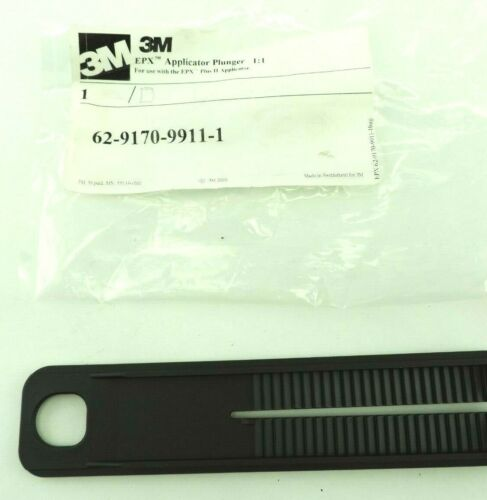 3M integrated 1:1 Plunger for EPX Plus II Applicators Dispensers 62-9170-9911-1