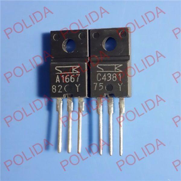 5PCS X 2SA1667 TO-220F SANKEN