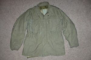 Military-Medium-Short-1985-Fatigue-M65-Field-Jacket-Coat-Liner-OG107-54