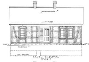 Architectural drawings Old Image Is Loading Timberframecottagearchitecturaldrawings singlestoryhome Ebay Timber Frame Cottage Architectural Drawings Single Story Home Plan