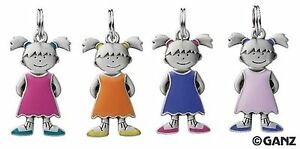 Girl-Child-Shaped-Blank-Initial-Charm-by-Ganz
