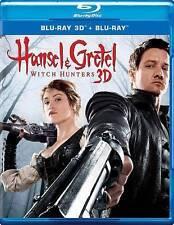 HANSEL AND GRETEL: WITCH HUNTERS 3D- Blu-ray 3D Disc, Blu-ray disc, & Digital HD