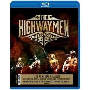 THE-HIGHWAYMEN-Live-At-Nassau-Coliseum-BLU-RAY-The-Very-Best-Of-CD-BRAND-NEW