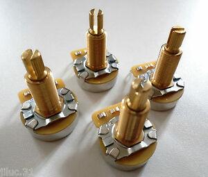 4-POTENTIOMETRES-CTS-500K-long-split-shaft-logarithmique-pour-toutes-guitares