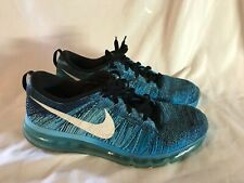 f1a06a1542d5 item 3 USED Nike Flyknit Max 620469-003 Black Tide Pool Blue Lagoon Men s  Running SZ 11 -USED Nike Flyknit Max 620469-003 Black Tide Pool Blue Lagoon  Men s ...