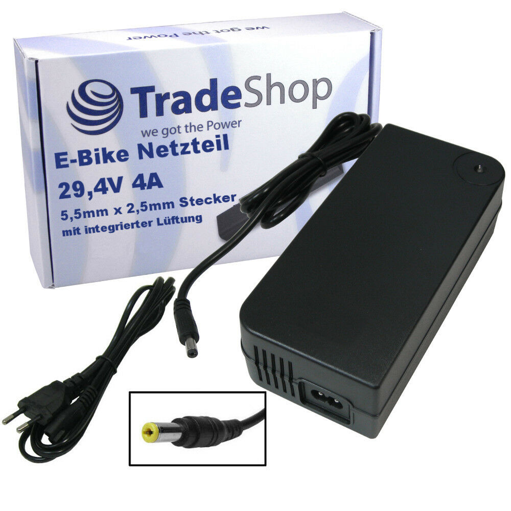Netzteil Schnell-Ladegerät 4A Ladekabel 29,4V 4A Schnell-Ladegerät für 24V Akku Samsung e-Bike e4e54d