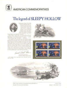 39-10c-Sleepy-Hollow-1548-USPS-Commemorative-Stamp-Panel