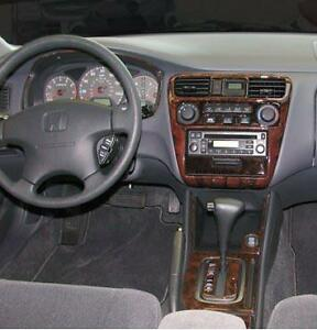 Image Is Loading 2001 2002 INTERIOR WOOD DASH TRIM KIT SET