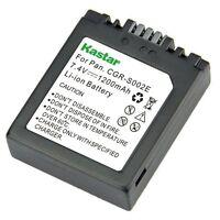 1x Kastar Battery For Panasonic Lumix S002 Dmc-fz5 Dmc-fz10 Dmc-fz15 Dmc-fz20