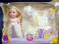 Tangled Disney Princess Rapunzel Wedding Dress-up Doll & Toddler Dress Gift Set