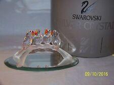 SWAROVSKI CRYSTAL BABBY LOVE BIRDS FIGURINE NEW IN BOX 7621NR000005 RETIRED