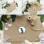 """60 Hummingbird Color Abstract Vinyl Envelope Seals Labels Stickers 1.2/"""" Round."""