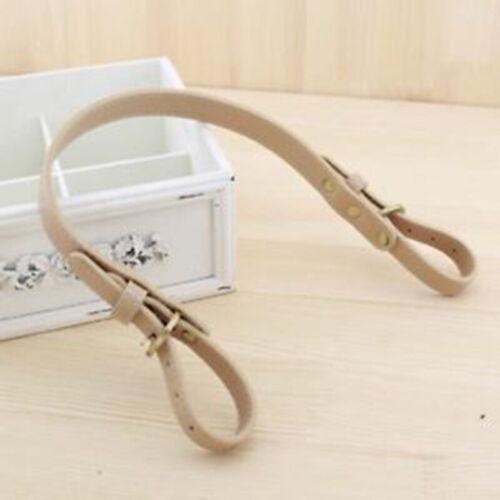 Einstellbare Leder Schultertasche Gurt Handtasche Austauschbarer Griff DIY Zubeh