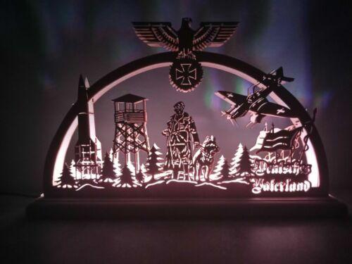 USB LED Schwibbogen Lichterbogen heros for Germany Helden für Deutschland