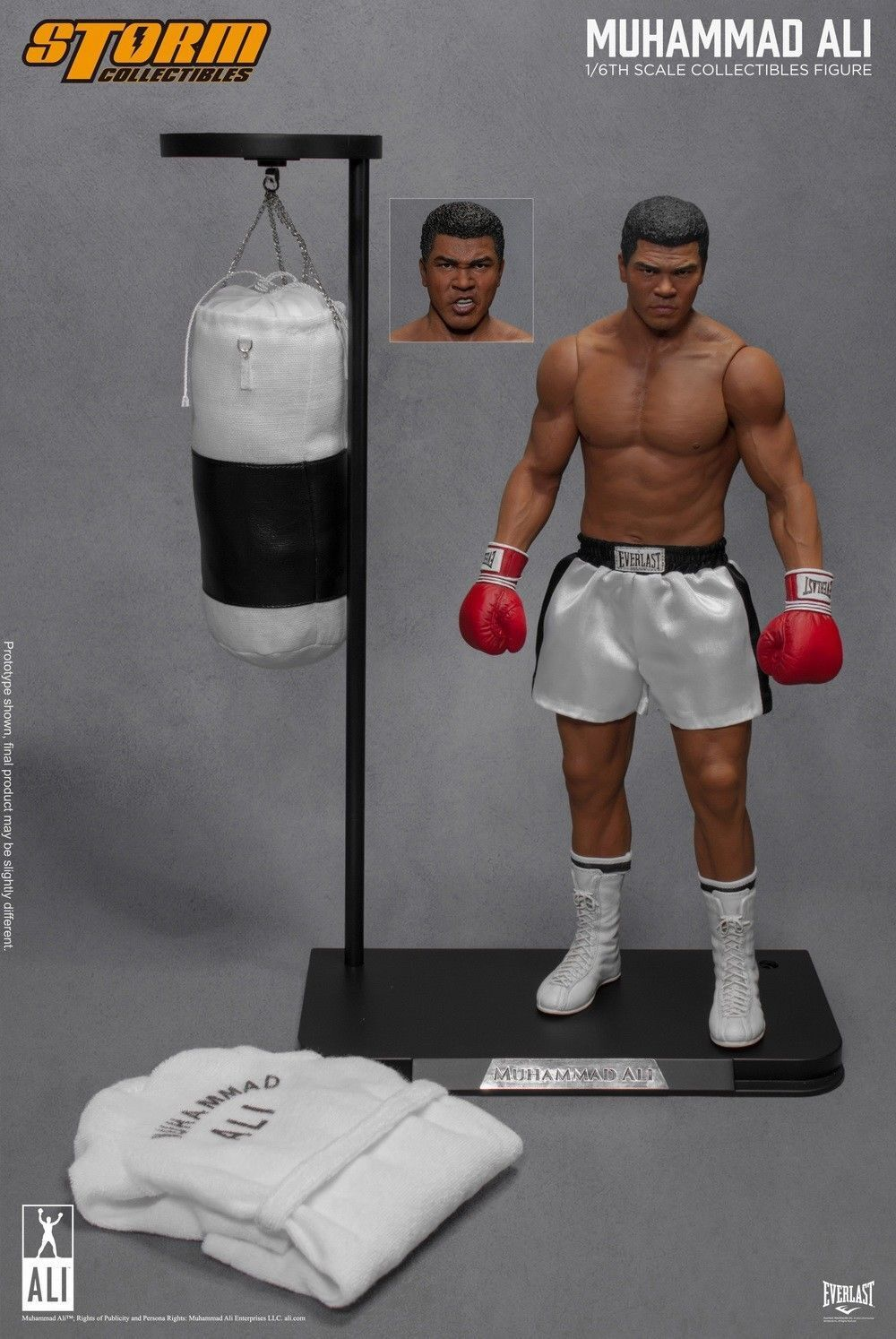 1 6 Storm Toys Likeness of Ali Muhammad Ali Boxing Doll  Figure Collectible