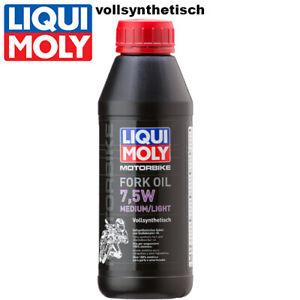 Liqui Moly Motorbike Gabelöl 3099 7,5W medium/light vollsynth. 500ml Fork oil