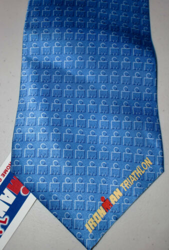 NEW IRONMAN Triathlon 100/% Silk Ties 8 Different Styles Fast Shipping WOW