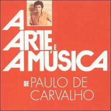PAULO CARVALHO - ARTE E A M£SICA DE PAULO DE CARVALHO NEW CD
