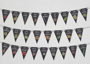 Back-to-School-Alphabet-Black-Board-Bunting-Banner-26-flags-by-PARTY-DECOR