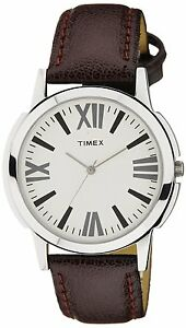 Timex TW002E101 Analog Silver Dial Men's Watch