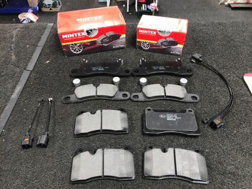 VW Touareg 3.0TDi V6 se Bluemotion Mintex Original Pastillas De Freno Delantero Trasero Sensor