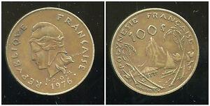 Charitable Polynesie Francaise 100 Francs 1976 ( Bis ) Des Friandises AiméEs De Tous