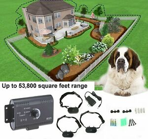 Underground-Electric-Dog-Fence-System-Waterproof-Shock-Collars-For-2-3-Dogs