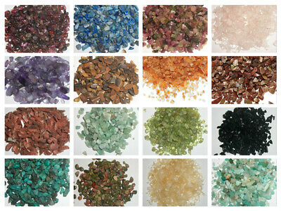 Undrilled mini chips Inlay chips embellishment gemstones 50 grams  Choose Stone