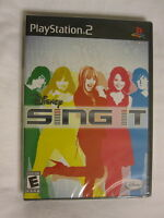 Disney Sing It (playstation Ps2) Brand New, Sealed