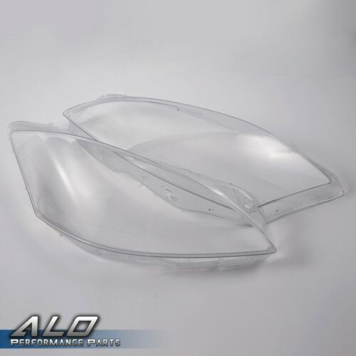 Pair Headlight Headlamp Lense Clear Lens Cover For MERCEDES BENZ W221
