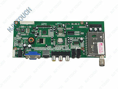 R.RT6251 VGA AV AUDIO TV LCD Controller Board Driver Board for B154EW01 1280x800