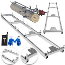 Rail Mill Guide System 9ft Crossbar Kits Work Chainsaw Mill Guide Set Ladder Us