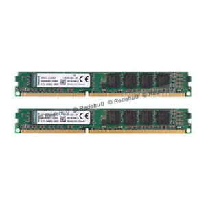 For-Kingston-8GB-2x4GB-DDR3-1600Mhz-PC3-12800U-240Pin-DIMM-SDRAM-KVR16N11S8-4-R0