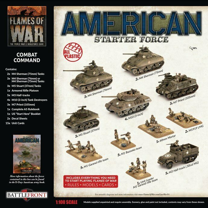 Flames Of War USAB10 - US Late War Starter Set
