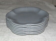 """Tiffani Gray 11"""" Dinner Plate - made in Italy - TFX1 - set of Seven Plates"""