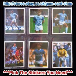 Daily-Mirror-1986-87-Stick-mit-Fussball-Teams-M-bis-Q-bitte-waehlen-Sie